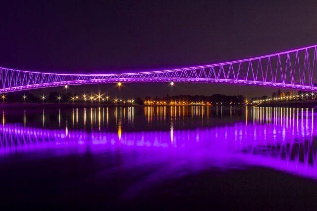 Osječki most po noći