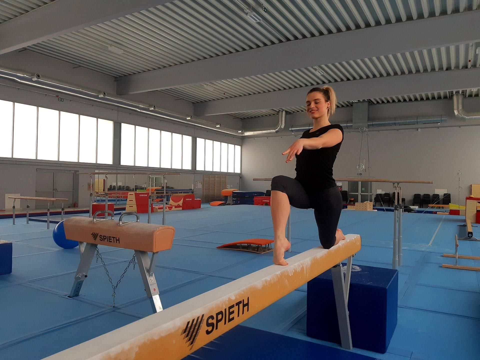 Sokol Centar pripreme gimnastičarke Djerek