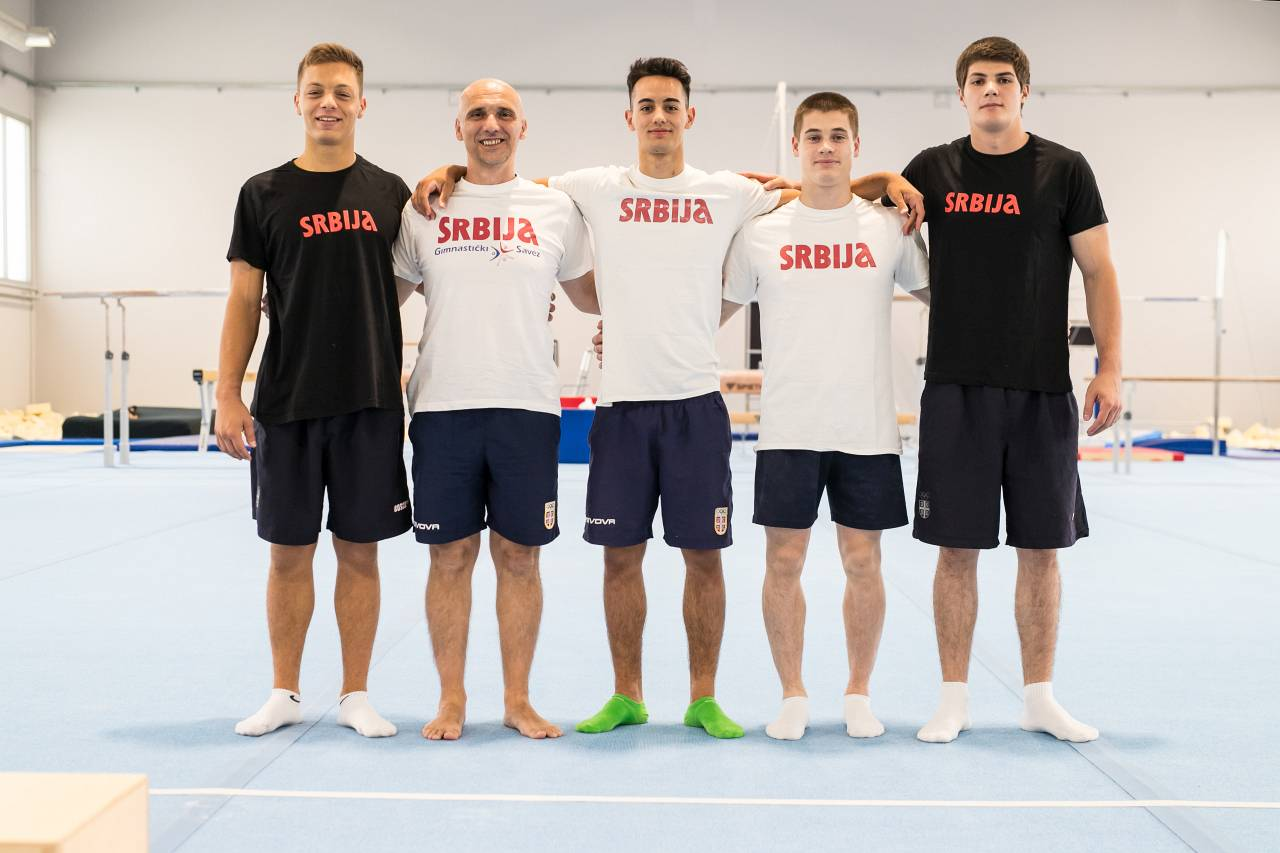 Sokol Centar Gimnastičari iz Srbije